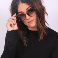 Mod Cat-eye Sunnies- Tortoise shell