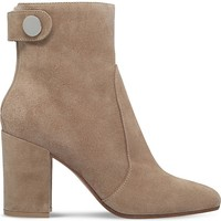 GIANVITO ROSSI - Lindon suede ankle boots | Selfridges.com