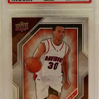 2009-10 Upper Deck Draft Edition #34 PSA 10 STEPHEN CURRY ROOKIE CARD, Warriors, Gem Mint