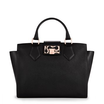 Black Opio Saffiano Bag 13692