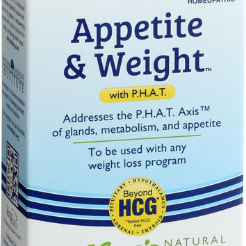 King Bio Homeopathic Appetite And Weight Control - With Phat - 2 Oz