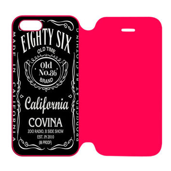 Jack Daniel California Covina iPhone 5 | 5S Flip Case Cover