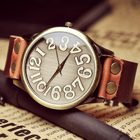 Man Watch Leather