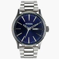 Nixon Sentry Ss Watch Blue Sunray One Size For Men 25979320001