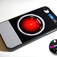 HAL 9000 Hello Dave iPhone 4S Case Hard Plastic