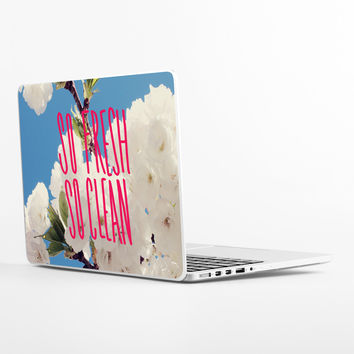 So Fresh So Clean Laptop Skin