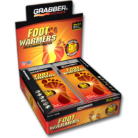 Grabber Insole Foot Warmers 30 Packs 5 Hour Heat Work Therapeutic Pain/Cold Relief