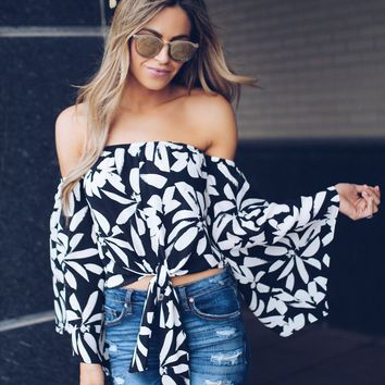 Summer Lily Off The Shoulder Top