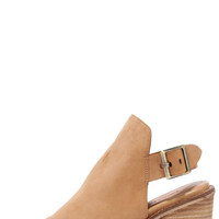 Chinese Laundry Caleb Natural Suede Leather Ankle Booties