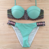 Mint 2 Piece Bikini Set Swimsuit 261