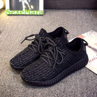 hot sale 2016 high quality yeezied 350 boosts Fashion men's casual shoes Women shoes men shoes Flats walk lovers shoes
