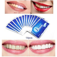 28Pcs/14Pair 3D White Gel Teeth Whitening Strips