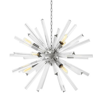 Modern Glass Chandelier | Eichholtz Equalizer - S
