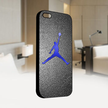 Nike Air Jordan Logo CUSTOM - Photo on Hard Cover For Iphone 4 / 4S Case, iPhone 5 Case - Black, White, Clear