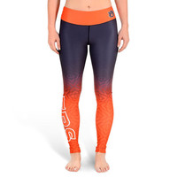Auburn Tigers Womens Official NCAA Gradient Print Leggings