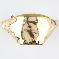 Extreme 80S Gold Hip Pack Gold One Size For Women 26057062101
