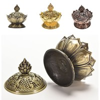 Holy Tibetan Lotus Incense Mini Burner for Cones