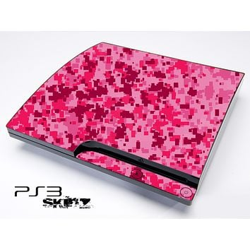 Pink Spotted Skin for the Playstation 3
