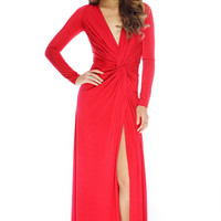 Penelope Dress - Red