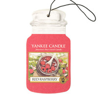 Red Raspberry Paper Car Jar by Yankee Candle