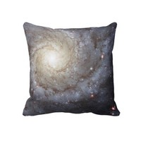 Messier 74 (also known as NGC 628) Pillow from Zazzle.com