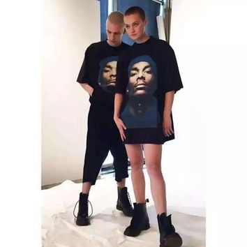 Vetement Snoop Dogg T Shirt Men Women 1:1 High Quality Summer Style Justin Bieber Kanye West T-shirts Top Tees Vetements T Shirt