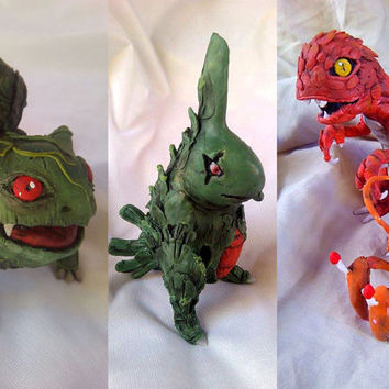 Custom realistic/creepy pokemon / OOAK / Made for order