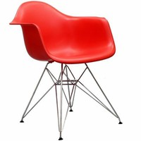 Paris Dining Armchair Red