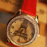 Eiffel Tower Fashion Watch