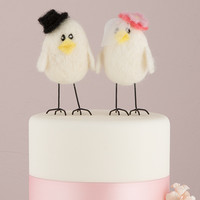 Sweet Tweets Wedding Cake Topper