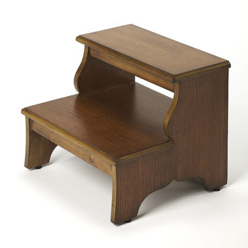 Melrose Praline Step Stool by Butler Specialty Company 1922245