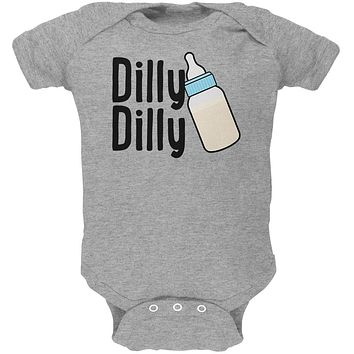 Dilly Dilly Baby Bottle Funny Soft Baby One Piece
