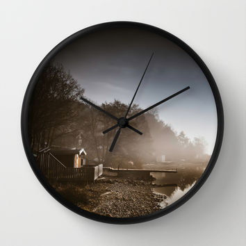 Shanghai port Wall Clock by HappyMelvin