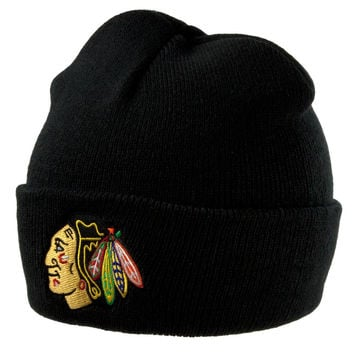 Chicago Blackhawks - Logo Adult Knit Hat