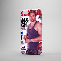 Charlie Hunnam Big Arms Magazine Cover iPhone Case Samsung Galaxy Case 3D