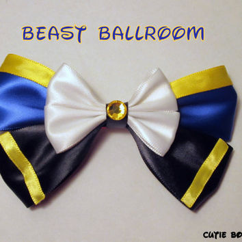 Ballroom Beast Hair Bow Beauty and the Beast by bulldogsenior08
