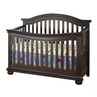 Sorelle Vista Elite 4-in-1 Crib - Espresso