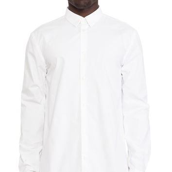 Won Hundred Moriarty Button Down in White
