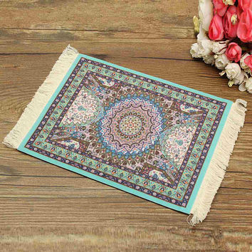 Persian Rug Mouse Pad Custom Bohemian Style Mouse Mat High Definition Printing Computer Game Mouse Home Decorative