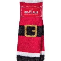 Shea-Infused Lounge Socks Just Be-Claus