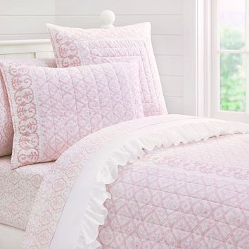 Isabelle Quilted Bedding | Pottery Barn Kids