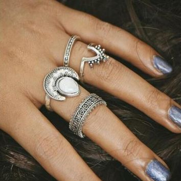 One-nice™ Fashion women New Arrival Gift Shiny Stylish Jewelry Gemstone Diamonds Twisted Ring