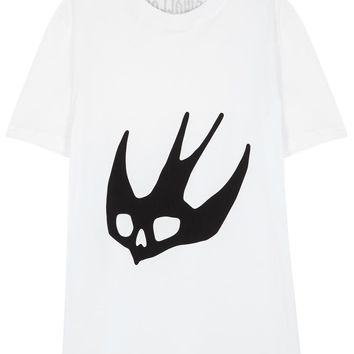 McQ Alexander McQueen X Tom Tosseyn swallow cotton T-shirt
