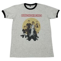 Radiohead alternative rock band music T-Shirt # GV512.4 size M