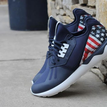 Adidas Tubular Runner (Ole Glory Custom)