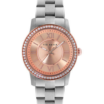 Ted Baker Ladies Two Tone Glitz Watch