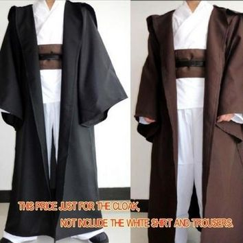 Star Wars Force Episode 1 2 3 4 5 2018 New Adults Kids  Jedi Knight Cloak Robe Cosplay Costume Hooded Cape Halloween Party  Ship  Price AT_72_6