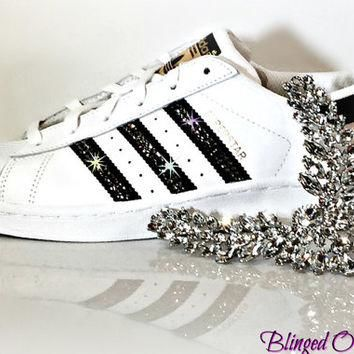 Women's Adidas Original Superstar with SWAROVSKI? Xirius Rose Crystals