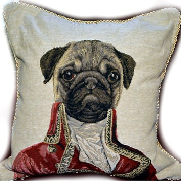 Tache Napoleon Bowaparte Vintage Throw Pillow Cushion Covers (CC-6011)