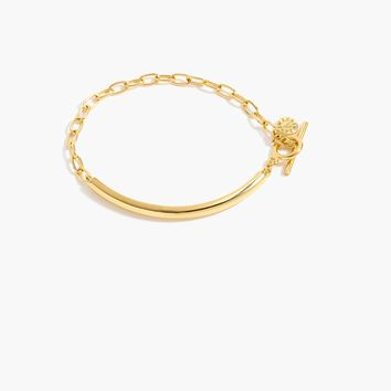 Demi-fine 14k gold-plated bracelet